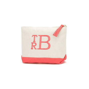 Coco Coral Cosmetic Bag