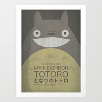 My Neighbor Totoro Art Print by OurbrokenHouse