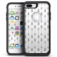 Vertical Acsending Arrows - iPhone 7 or 7 Plus Commuter Case Skin Kit