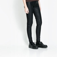 COMBINED TROUSERS - Trousers - TRF | ZARA United Kingdom