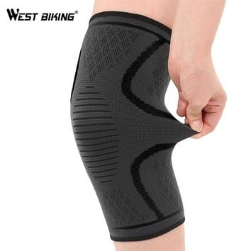 WEST BIKING Cycling Leg Warmers 1 PC Windproof Sports Safety Knee Pads Outdoor Running Climbing Gaiters MTB Bicycle Leg Warmer