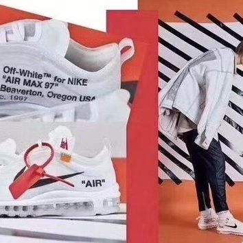 PEAP9IW OFF - WHITE × Nike Air max 97