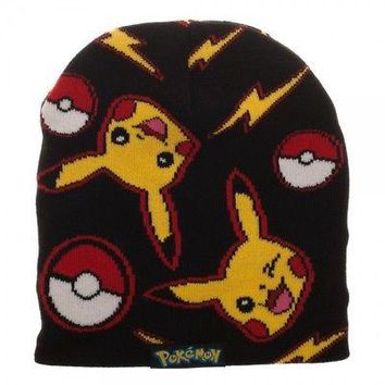 Pokemon AOP Beanie by BioWorld