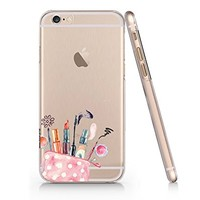 Make Up Cosmetic Slim Iphone 6 6s Case, Clear Iphone Hard Cover Case For Apple Iphone 6 6s Emerishop (iphone 6)