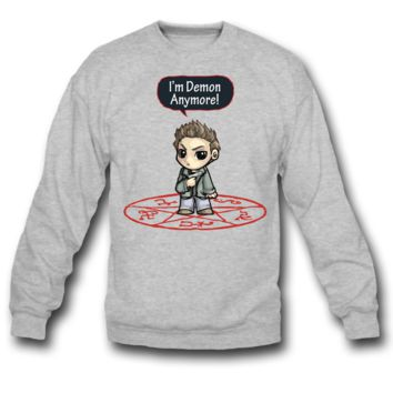 i am demon anymore SWEATSHIRT CREWNECKS