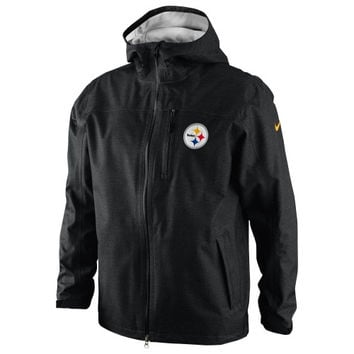 Nike Pittsburgh Steelers Storm-FIT Shell Jacket - Black