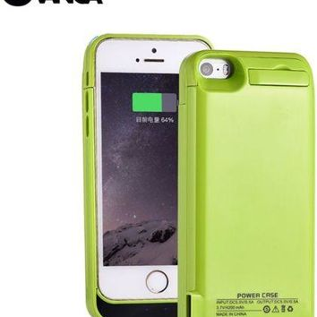 For iPhone 5 5S 5C SE Battery Charger Case External Battery Pack Power Case