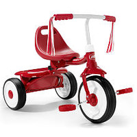 Radio Flyer Boys Fold 2 Go Tricycle - Red