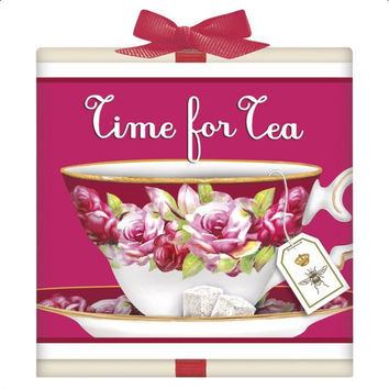 Pink Teacup Tea Box Favor