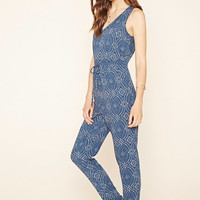Contemporary Printed Jumpsuit