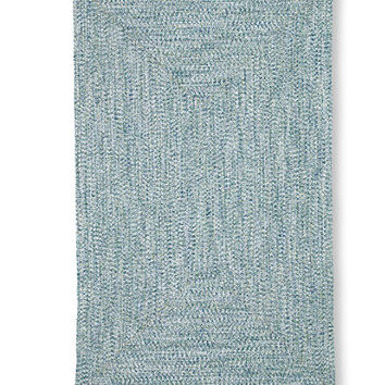 All-Weather Braided Rug, Concentric Pattern Rectangular | L.L.Bean