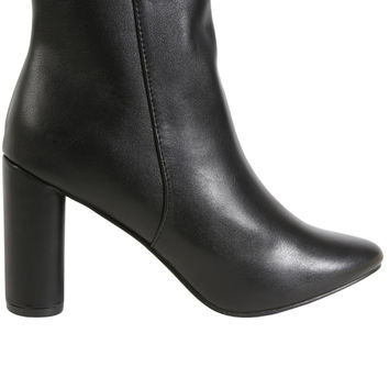 Shelly Mod Bootie - Black