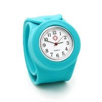 New jelly candy color nurse wrist watch with silicone band = 1958385988