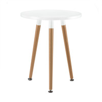 Snow-Capped Side Table in Natural