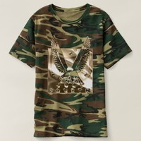 Golden Eagle USA July 4 Independence Day T-shirt