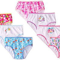 Handcraft Little Girls'  My Little Pony  Panty (Pack of 7), Multi, 4