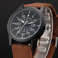 Canvas Men Watch Quartz Watch [6542544387]