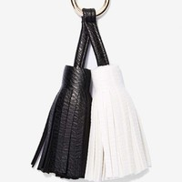 Double Take Tassel Keychain