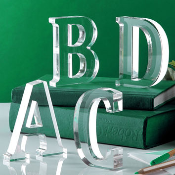 Acrylic Letter Accent