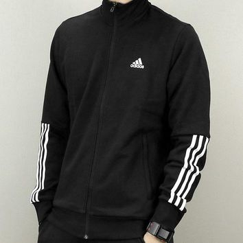 Trendsetter  Adidas  Men  Fashion Cardigan Jacket Coat