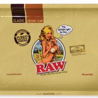 Raw Rolling Tray Girl (small)