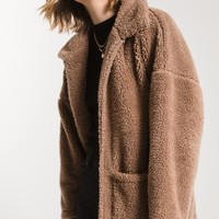 The Sherpa Teddy Bear Coat