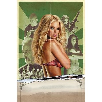 Zombie Strippers Movie poster Metal Sign Wall Art 8in x 12in