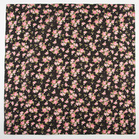 Floral Print Bandana Black Combo One Size For Women 24716614901