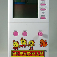 Vintage 1982 Ms Pac-Man Handheld Game Namco Excellent Working Condition