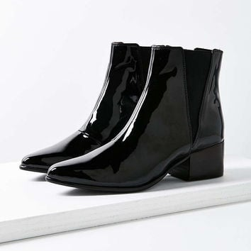 Vegan Patent Leather Pola Chelsea Boot - Urban Outfitters