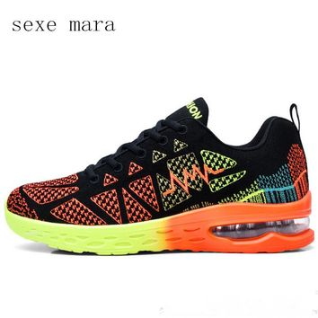 Women's Air Cushioned Lightweight Breathable Tennis Shoes