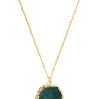 Havanna Crystal Necklace - Emerald