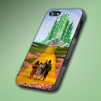 Walk on Dream Wizard Of Oz - Hard Case Made From Plastic or Rubber - For iPhone 4/4s, 5, 5c, 5s, iPod 4, 5, Samsung S3, S4