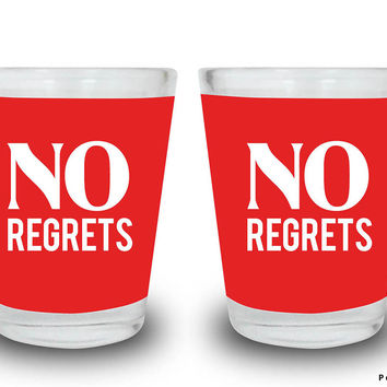 No Regrets Shot Glasses Set | Artist: Inderpreet Singh
