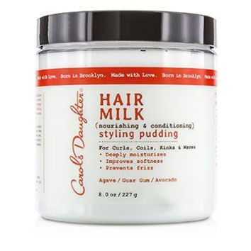 Hair Milk Nourishing & Conditioning Styling Pudding (For Curls Coils, Kinks & Waves) - 227g-8oz