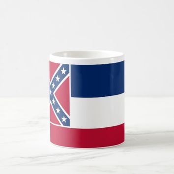 Mug with Flag of Mississippi State - USA