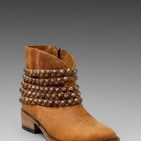 Steven Jaane Bootie in Cognac Leather from REVOLVEclothing.com