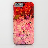 Two Different Worlds -- Floral Pattern iPhone & iPod Case by Ramo
