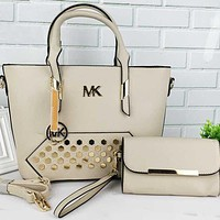 Michael Kors MK Women Shopping Bag Leather Tote Handbag Shoulder Bag
