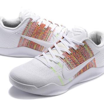 Nike Kobe Xi Elite White Basketball Trainers Size Us7 12 | Best Deal Online