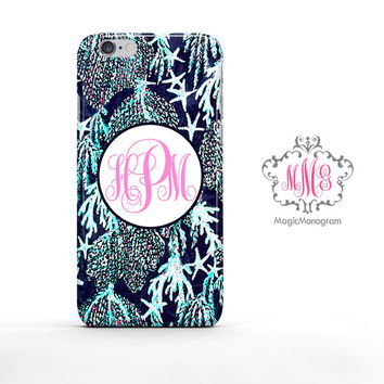 Pulitzer Bright Navy Good Reef Riley Infinity Loop iPhone 6s Case, iPhone 6 Case Series
