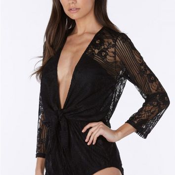 Sunkissed Lace Romper