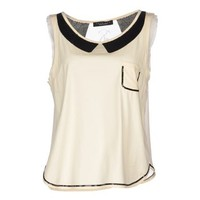 TWIN-SET Simona Barbieri Sleeveless t-shirt