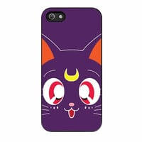 Sailor Moon Luna Kawaii Cat iPhone 5s Case