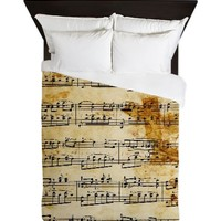 Vintage Music Queen Duvet