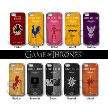 Game of Throne ,House,iPhone 4 case, iphone 5 case, ipod 4 case, ipod 5 case, samsung galaxy S3,galaxy S4, samsung note 2,Blackberry z10,q10