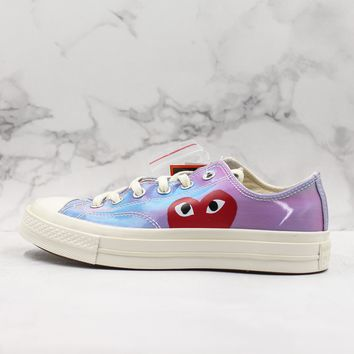 CDG Play x Converse Chuck Taylor All Star 1970s Low Top Sneakers - Best Deal Online
