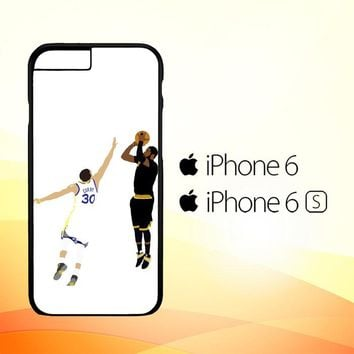 Kyrie Irving Clutch Shot Over L2180 iPhone 6 6S Case
