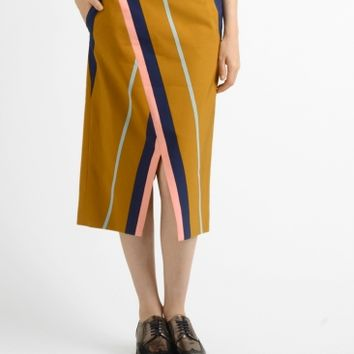 Apiece Apart livia silk faille blanket skirt at Bird : ShopBird.com