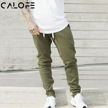 CALOFE Men's Slim Fit Jogger Breathable Athleisure Fitness Pants